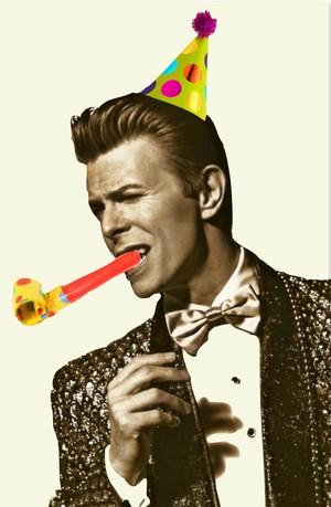 Birthday boy Bowie