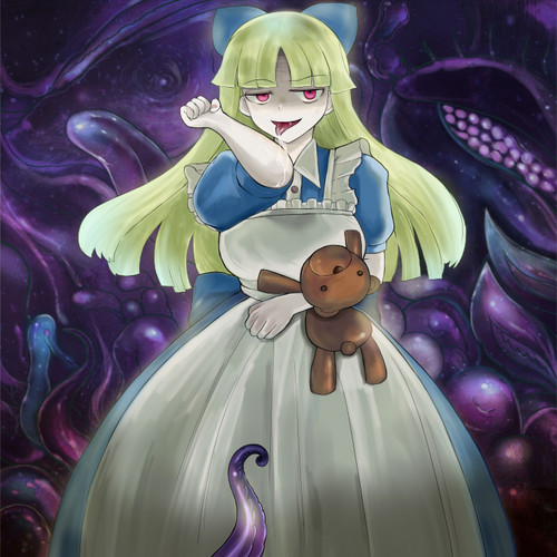 Monster Girl Quest wolpeyper entitled Black Alice