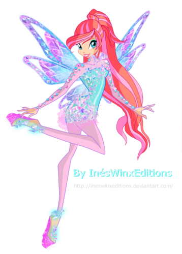 Winx Club Hintergrund entitled Bloom Tynix