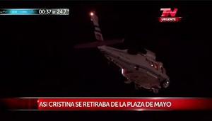 CFK en helicoptero se va.JPG