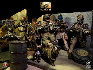 Calvin's Custom 1:6 One Sixth Scale Original নকশা Future Warriors: WARDOGS