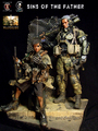 Calvin's Custom 1:6 one sixth scale Original Design Future Warriors: WARDOGS