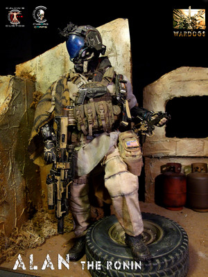 Calvin's Custom 1:6 one sixth scale Original Дизайн Future Warriors: WARDOGS
