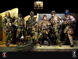 Calvin's Custom One sixth scale Future Warriors: WARDOGS