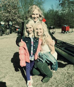 Caroline and Liz