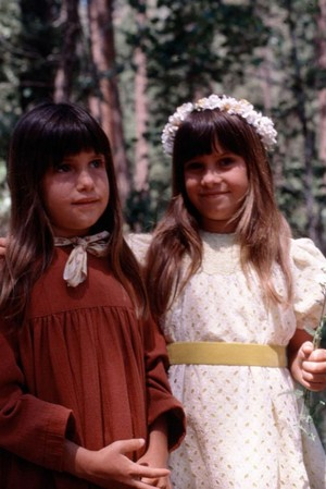"Carrie and Alyssa in ""The Godsister"" (1978)"