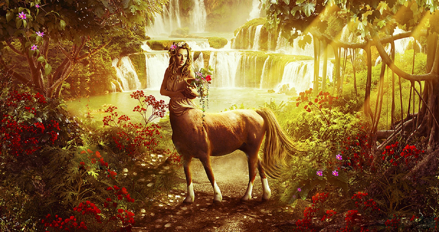 Free fantasy female centaur wallpapers anime pic