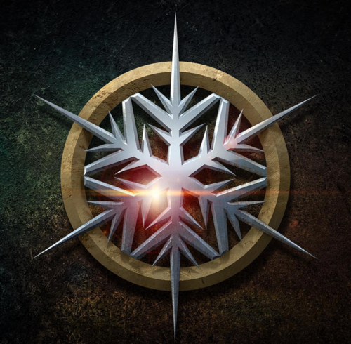 DC's Legends of Tomorrow wallpaper possibly containing a roulette wheel entitled Character Emblems
