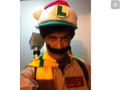 Christmas Boo/Ghostbuster Luigi!  - luigi photo