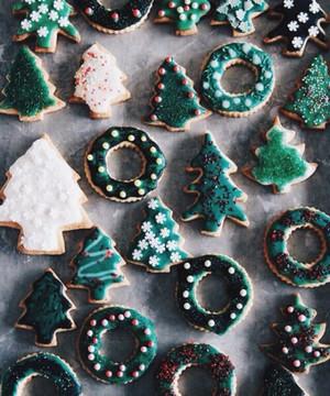giáng sinh bánh quy, cookie