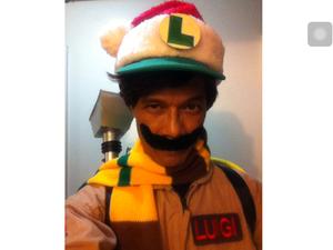 navidad Ghostbusters Luigi!