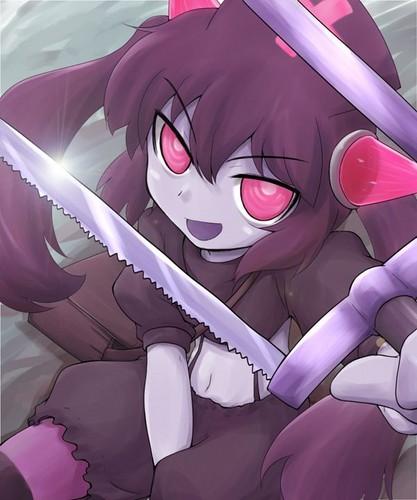 Monster Girl Quest wolpeyper entitled Chrome Artiste