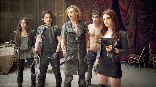Shadowhunters wallpaper possibly containing a hip boot and a strada, via titled City of Bones