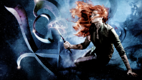 Mortal Instruments wallpaper possibly containing anime titled Clary