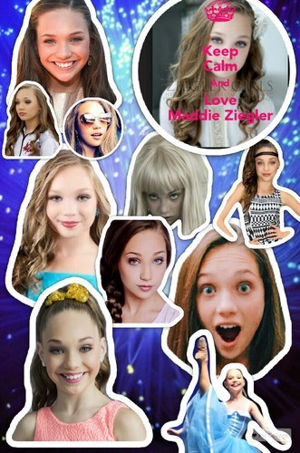 Dance Moms kertas dinding called Collage 2015 12 26 10 06 11