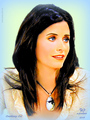 Courteney Cox / Monica  - friends fan art