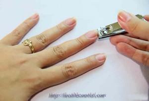 Cut your nail according