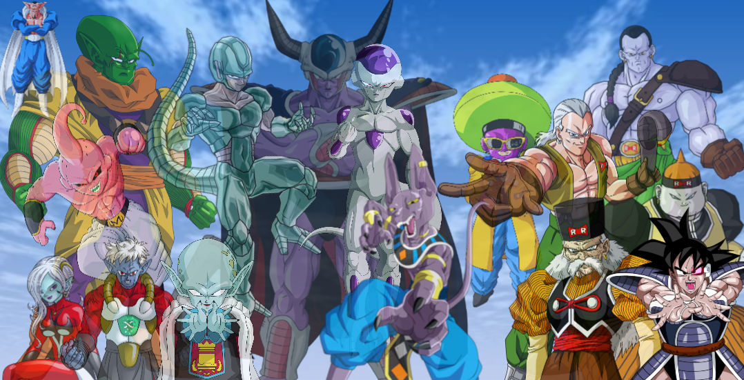 Dragon Ball Z images D.B.Z Villains HD wallpaper and ...