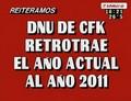 DNU CFK