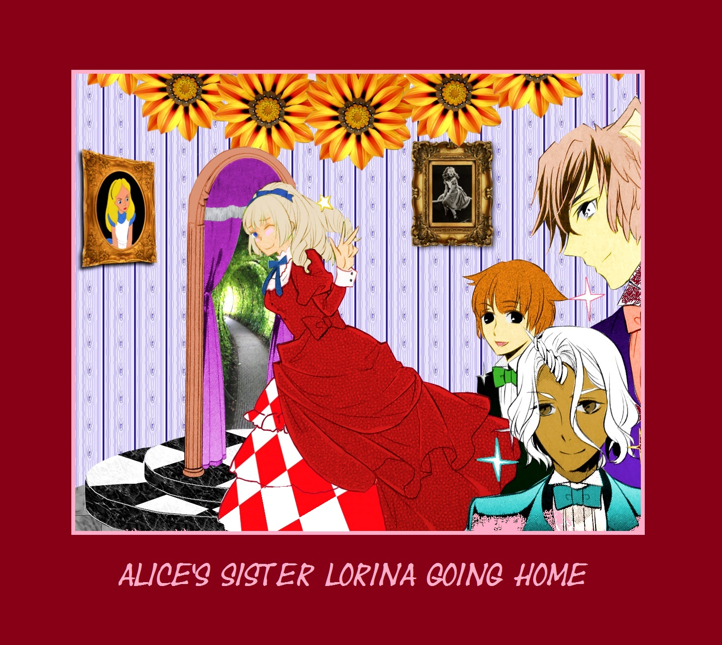 """Alice In Wonderland Fanpop: Going Home From """"I Am Alice"""" Manga"""