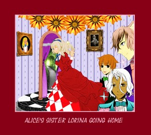 """Going ホーム from """"I Am Alice"""" マンガ"""