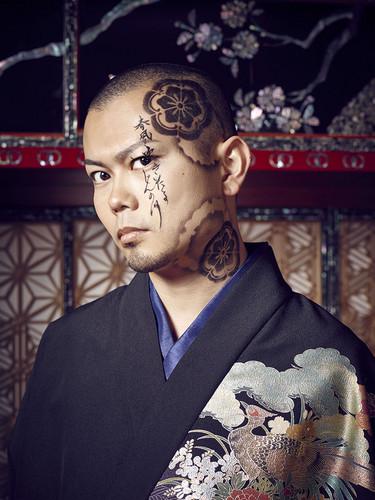 Wagakki Band achtergrond containing a kimono called Daisuke Kaminaga