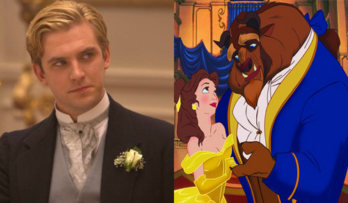 Prince Adam wallpaper with a business suit entitled Dan Stevens as Beast/ Prince Adam in live picture 2017