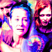 Daryl, Carol and Sophia - daryl-dixon icon