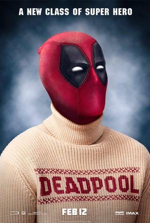 Deadpool 2016 Class Poster