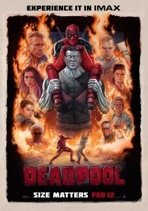 Deadpool 2016 IMAX Poster
