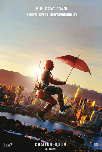 Deadpool (2016) fondo de pantalla possibly with a parasol titled Deadpool Fanmade Poster