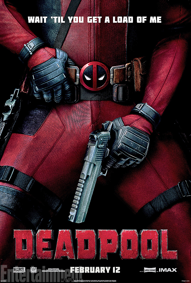 "Deadpool - ""Wait 'til 你 get a load of me"" Poster"