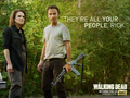 the-walking-dead - Deanna Monroe wallpaper