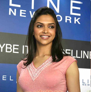 Deepika Padukone at colores of Maybelline
