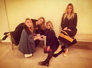 Dianna and friends