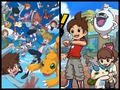 Digimon and Yo-Kai Watch