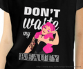 Don't Waste my Beauty Aurora Punk Rock Tee - princess-aurora photo