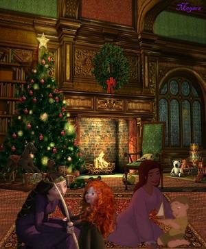 Dunbroch and Hawkins Christmas