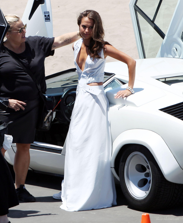Elle US 2015 photoshoot (behind the scenes)