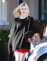 Elle at Barneys  - elle-fanning photo