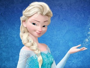 Elsa from Frozen Without Makeup.