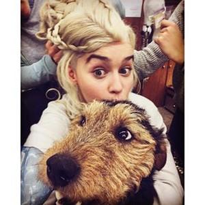 Emilia's selfie