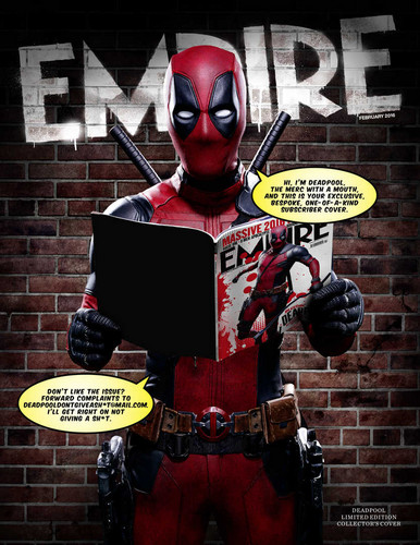 Deadpool (2016) fondo de pantalla titled Empire's Collector's Edition 'Deadpool' Cover