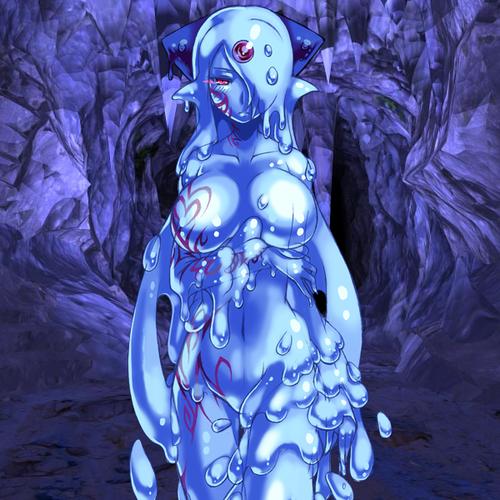 Monster Girl Quest kertas dinding called Erubetie