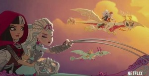 Ever After High Dragon Games trailer