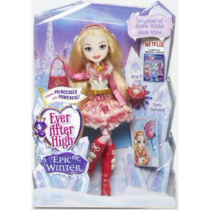 Ever After High Epic Winter mansanas White doll
