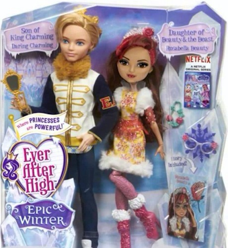 Ever After High wallpaper titled Ever After High Epic Winter Daring Charming and Rosabella Beauty two pack