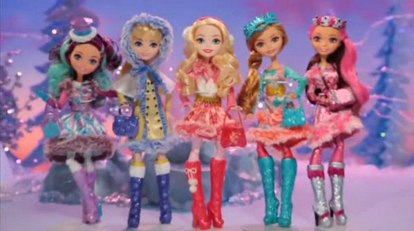 Ever After High Epic Winter anak patung