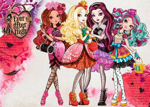 Ever After High wallpaper with Anime titled Ever after high