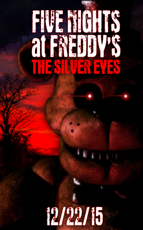 FNaF TheNovel - Updated cover